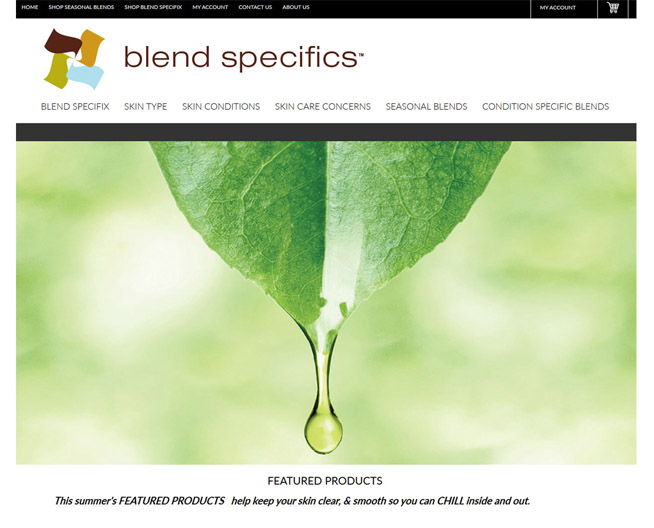 Blend Specifics