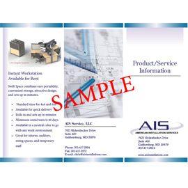 AIS Trifold details »